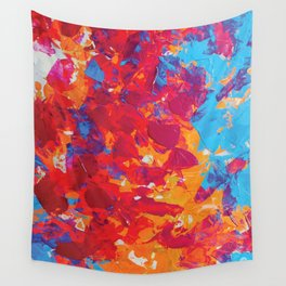 Orange Mix Wall Tapestry
