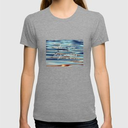 Deep Waters - Christian Quote T-shirt