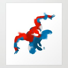 Amazing Spiderman minimalist poster Art Print