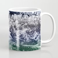chaos Mugs featuring Chaos by Monica Ortel ❖