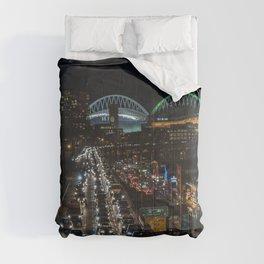 Alaska Way Viaduct Comforters