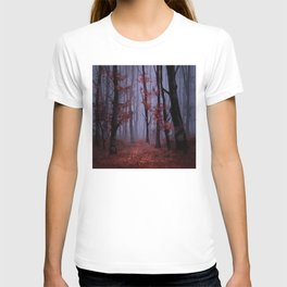 red forest 2 T-shirt