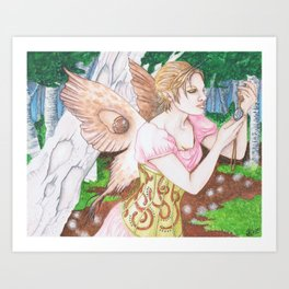 The Locket - Enchanted Visions Project Art Print