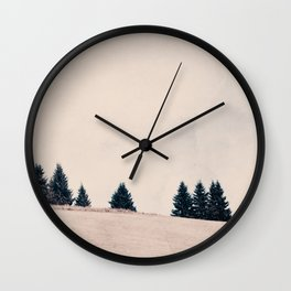 summer field Wall Clock