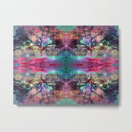 Dream under the trees Metal Print