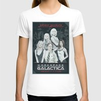 battlestar galactica T-shirts featuring Workspace Galactica by Arne AKA Ratscape