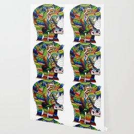Rainbow Rhino Wallpaper