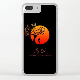 Shinobi Endures Clear iPhone Case