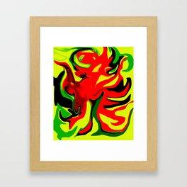 hellacious Framed Art Print
