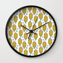 Pattern Project #37 / Sailor Dog Wall Clock