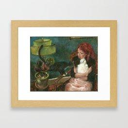 Maiya Framed Art Print