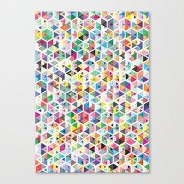Cuben Colour Craze Canvas Print