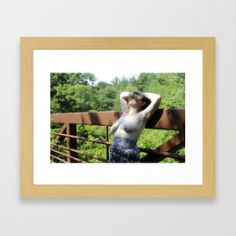 Why is it so hard to sell sexy art ? Framed Art Print