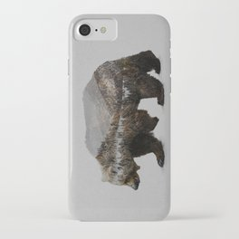 The Kodiak Brown Bear iPhone Case