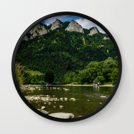 Pieniny Mountains Wall Clock