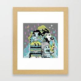 Magic Friends Framed Art Print