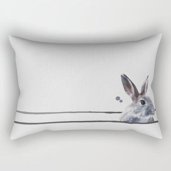 HORIZONTAL RABBITHOLE Rectangular Pillow