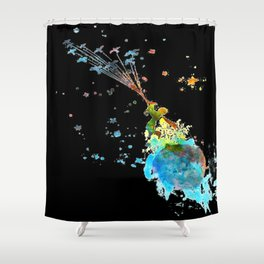 Little prince Shower Curtain