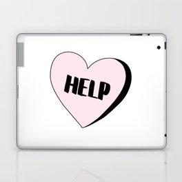 Help Candy Heart Laptop & iPad Skin