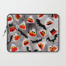 Halloween Candy Corn - Monsters - Trick or Treat Laptop Sleeve