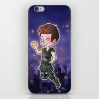 peter pan iPhone & iPod Skins featuring Peter Pan by Sunshunes