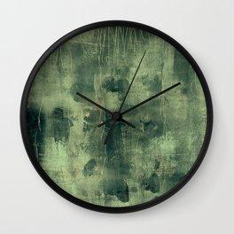 tex mix green Wall Clock