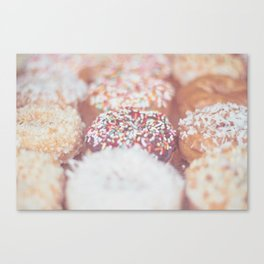Delicious Donuts Canvas Print