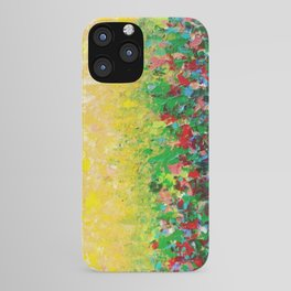 NATURE'S LIVING ROOM - Gorgeous Bright Bold Nature Wildflower Field Landscape Abstract Art New 2012 iPhone Case