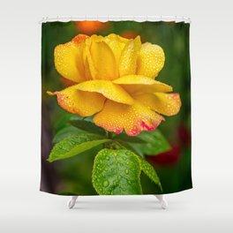 Garden Rose Shower Curtain