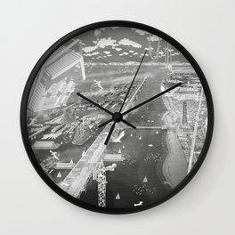 Frackpool 04 Wall Clock