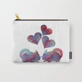 Chinchilla art Carry-All Pouch