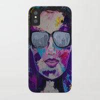 sunglasses iPhone & iPod Cases featuring Sunglasses by Wendistry