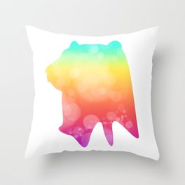 Neonimals: Bear Throw Pillow