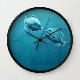Garden of love Wall Clock