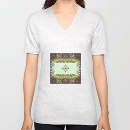 _kaleidoscope series: indiana hoosier state pride. Unisex V-Neck