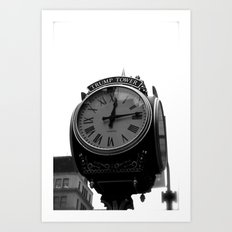 Does Anybody Have The Time? Art Print