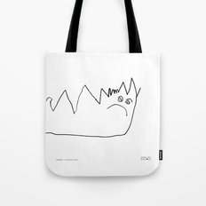 [angry caterpillar] - nadya 3 yr Tote Bag