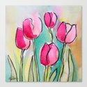 Pink Tulips by ellenvandeelen