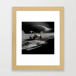 Apollo 15 - Moonwalk 1971 Framed Art Print