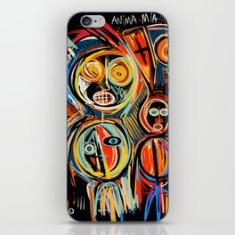 Anima Mia Street Art Graffiti Art Brut iPhone Skin