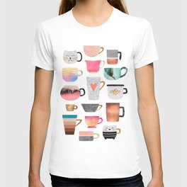 Coffee Cup Collection T-shirt