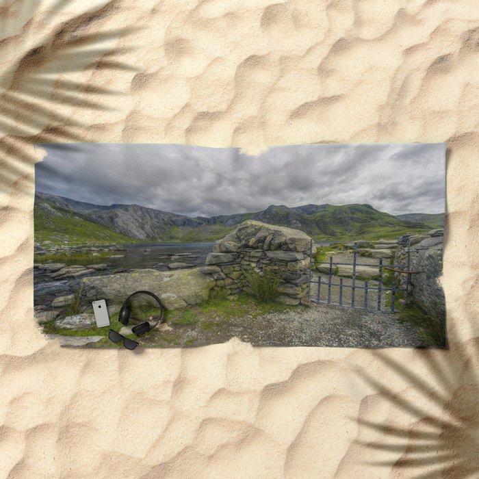 Gate To The Lake Beach Towel
