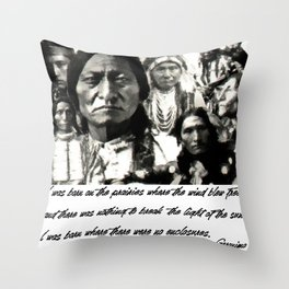SAND CREEK Throw Pillow
