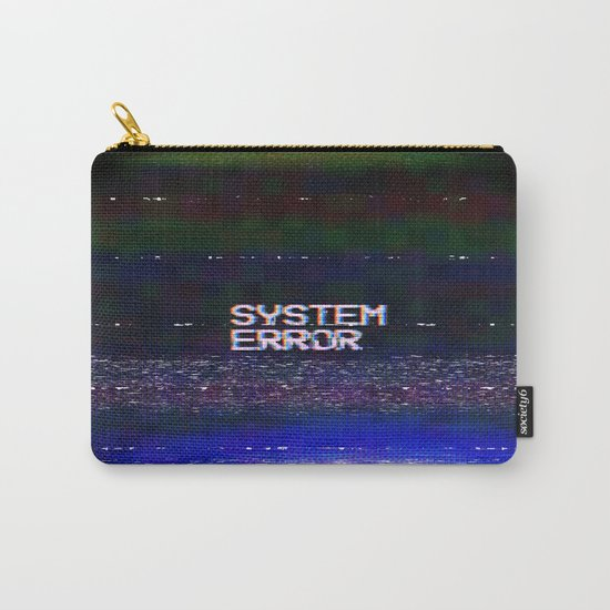 System Error Carry-All Pouch
