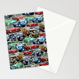 Classic Cars (K.T.B.) Stationery Cards