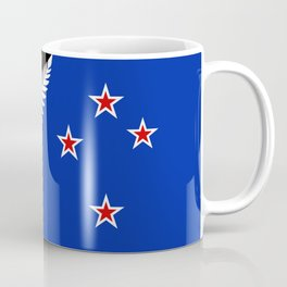 Proposed new Flag design for New Zealand Coffee Mug