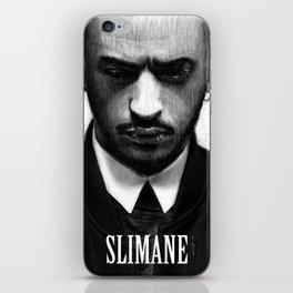 Portrait of Slimane iPhone Skin