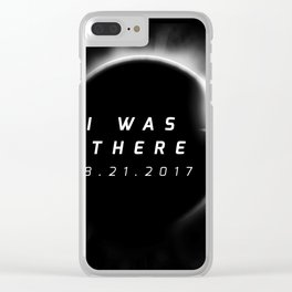 Total Solar Eclipse August 21 2017 Clear iPhone Case