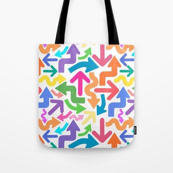 Arrow color Tote Bag