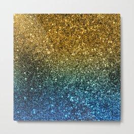 Ombre glitter #3 Metal Print